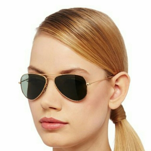 53ecfaccf0 Ray Ban Womens Aviators Small